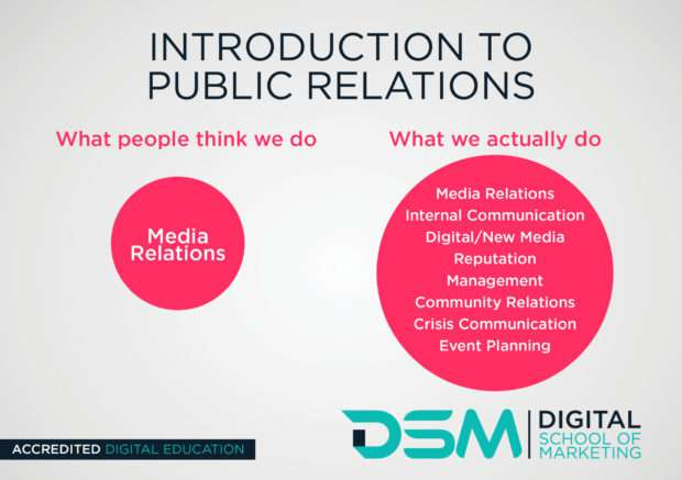 DSM Digital school of marketing - public relations