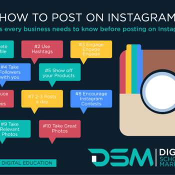 DSM Digital school of marketing - instagram strategies