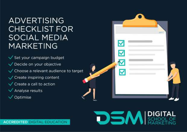 DSM Digital school of marketing - social media advertising costs