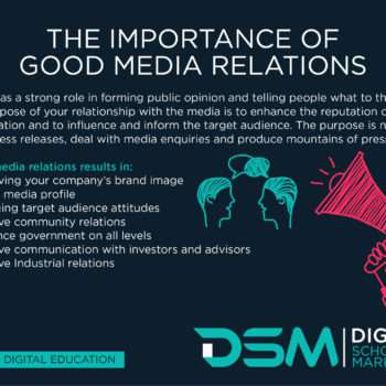 DSM Digital school of marketing -PR can outflank your competitors