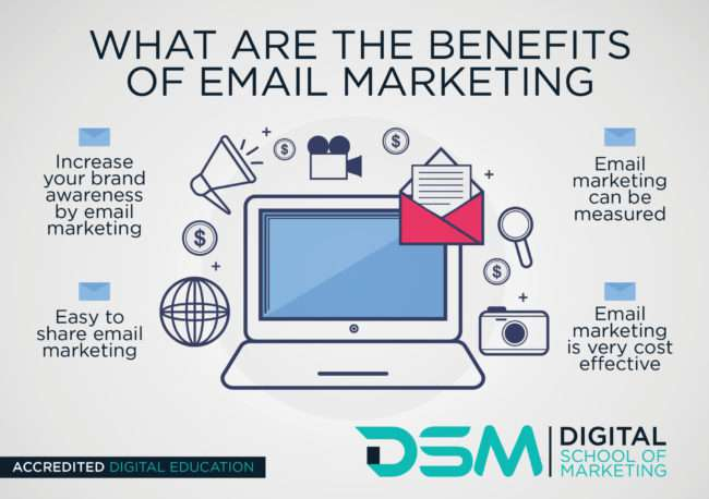 DSM Digital school of marketing - constructing email campaigns