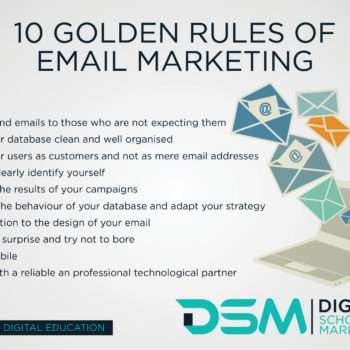 DSM Digital school of marketing - mastering e-mail marketing