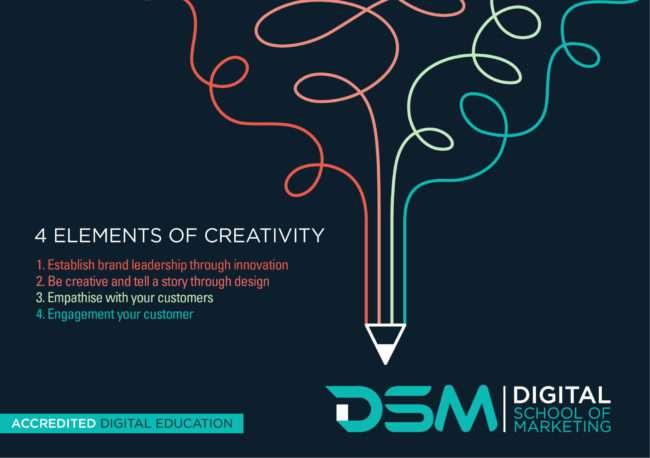 DSM Digital school of marketing - creation of an advertisement