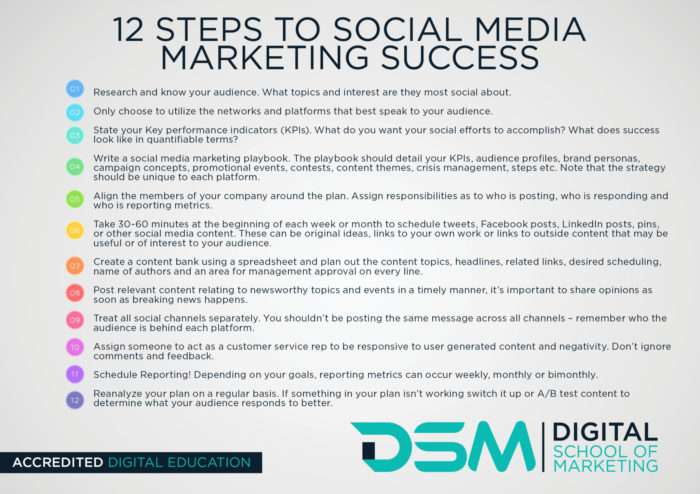 DSM Digital School of Marketing - marketing plan