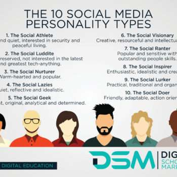 DSM Digital School of Market- social media community management