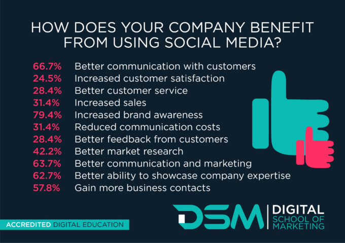 DSM Digital School of Marketing - social