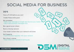 DSM Digital School of Marketing-social media workflow
