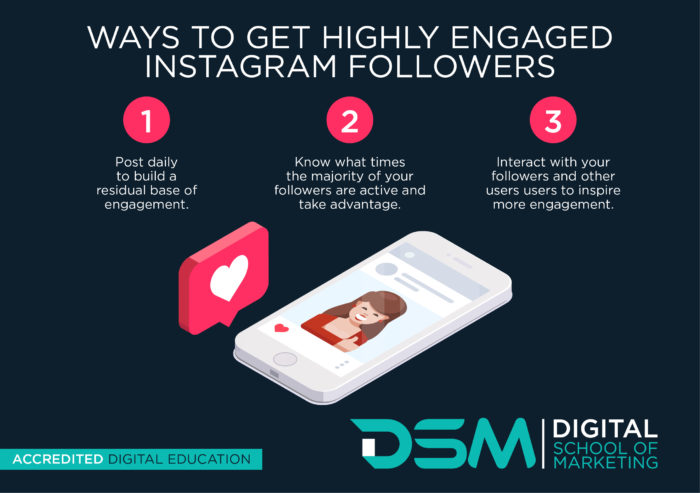DSM Digital School of Marketing - Instagram stories