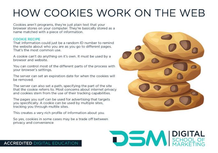 DSM Digital School of Marketing - cookie
