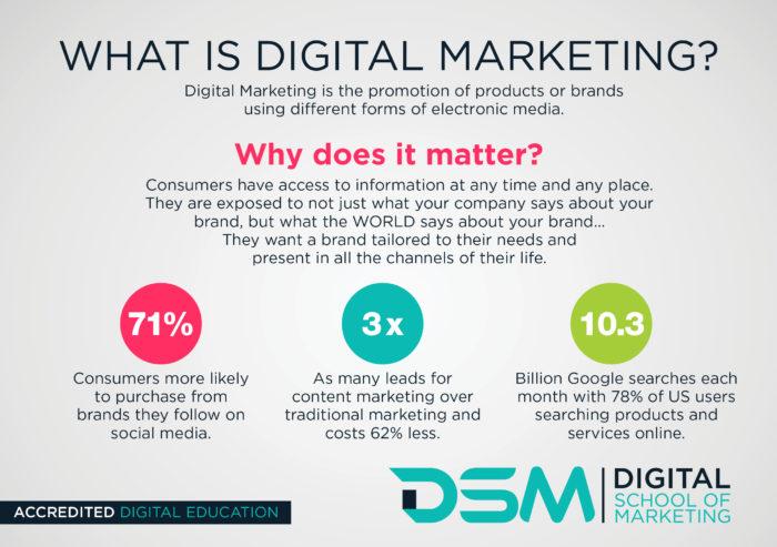 DSM Digital school of marketing - digital