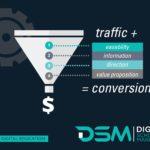 DSM Digital School of Market - website conversions