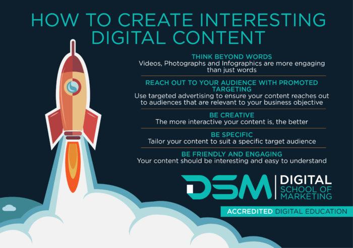 DSM Digital school of Marketing - email