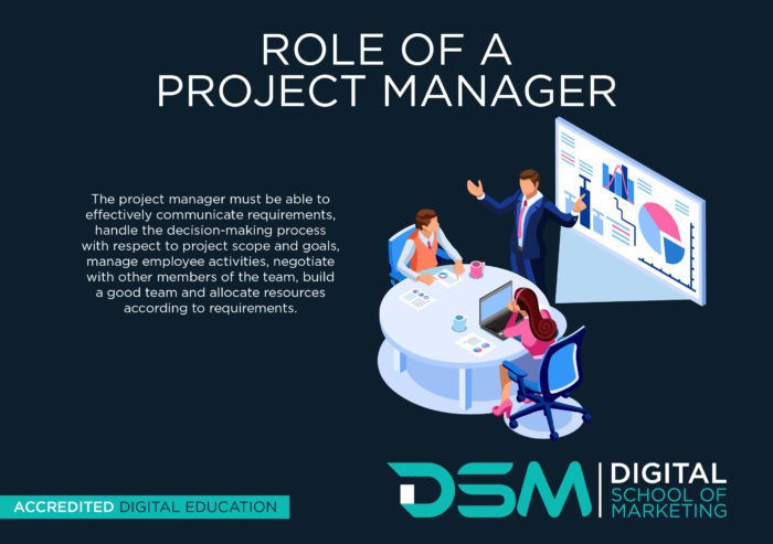 DSM Digital School of Marketing - project management