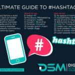 DSM Digital School of Marketing - hashtags