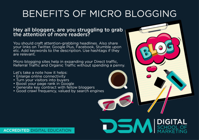 DSM Digital School of Marketing - microblogging