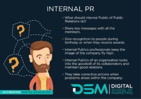 DSM Digital School of Marketing - internal pr