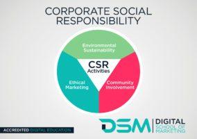 DSM Digital School of Marketing - corporate social responsibility