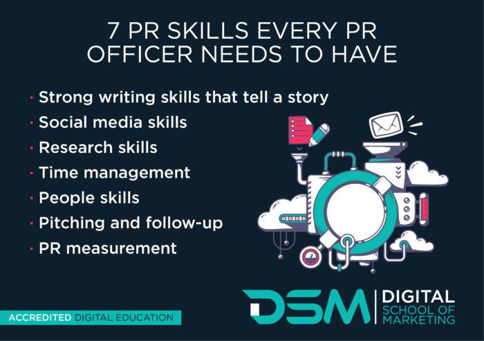DSM Digital School of Marketing - public relations