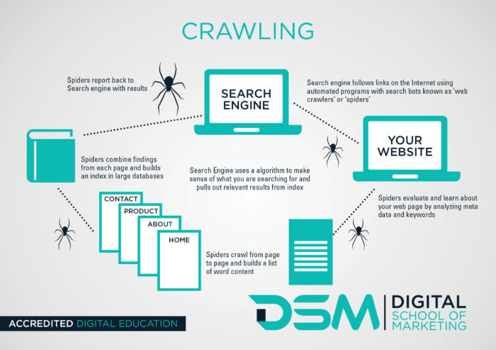 DSM Digital School of marketing - search engines