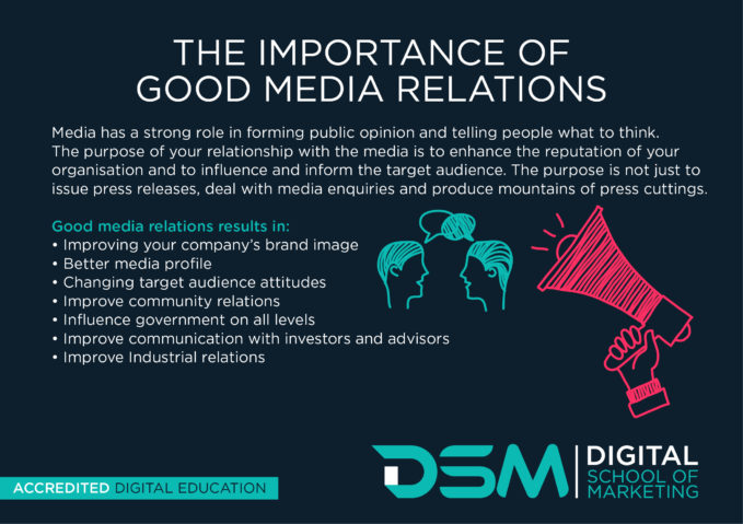 DSM Digital School of Marketing - digital PR