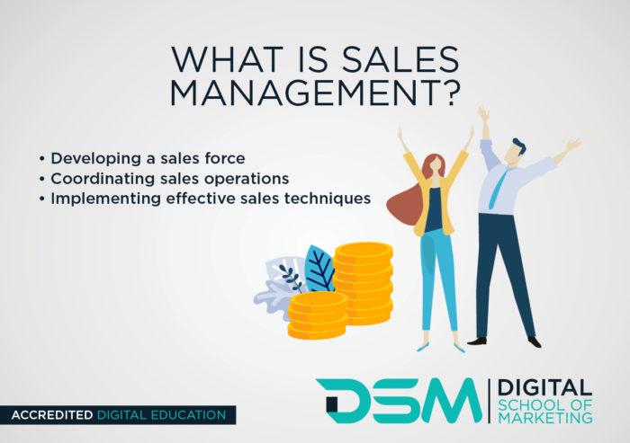 DSM Digital School of Marketing - sales management