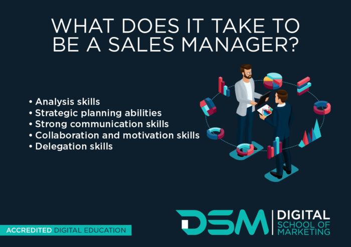 DSM Digital School of Marketing - sales manager
