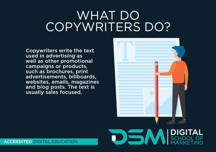 DSM Digital School of Marketing - copywriters