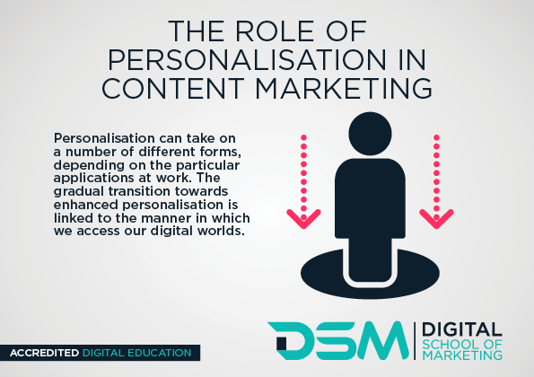 DSM Digital School of Marketing -personalisation